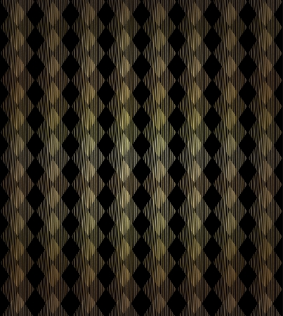 Ornamental geometrical seamless background  Golden decorative linear endless pattern Stock Vector - 17272574
