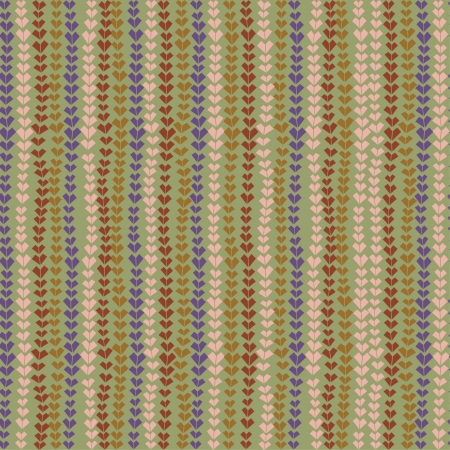 Abstract seamless plaited texture  Endless colorful pattern  Template for design and decoration  Vector