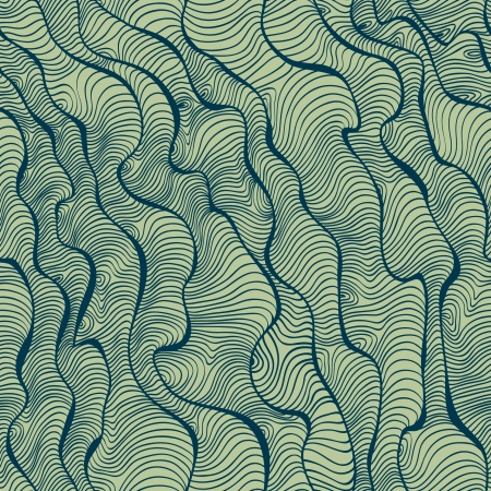 texture twisted: Abstract linear seamless pattern  Template for design backgrounds, package, textile, wrapper  Illustration