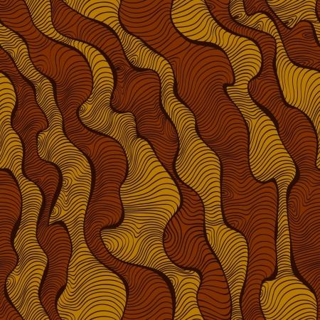 エンドレス アフリカ テクスチャのシームレスな線形装飾的なパターン テンプレート デザインと装飾の様式化されました。
