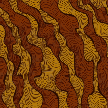 Endless stylized african texture  Seamless linear decorative pattern  Template for design and decoration
