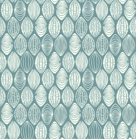 Neutral seamless graphic texture  Endless white ornamental pattern  Template for design