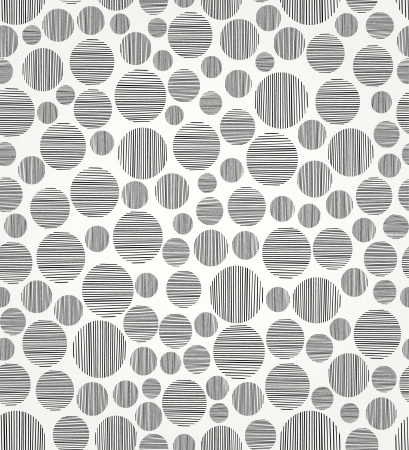 Seamless black and white circle pattern  Endless linear decorative pattern  Template for design Stock Vector - 18089206