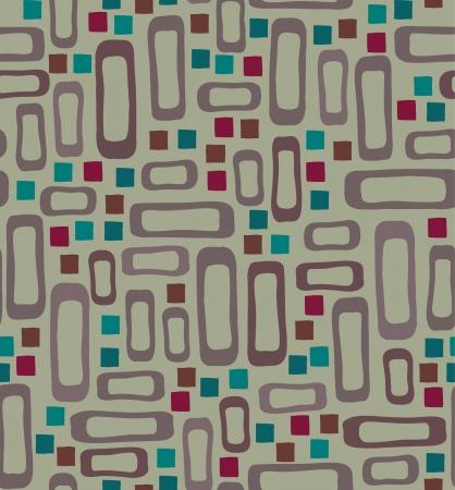 plaited: Seamless patr�n geom�trico Endless textura retro para el dise�o y la decoraci�n Vectores