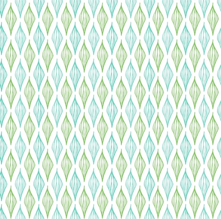 Delicate seamless green pattern  Endless spring linear abstract texture  Template for design fabric, backgrounds, cover, wrapper Stock Vector - 18790677