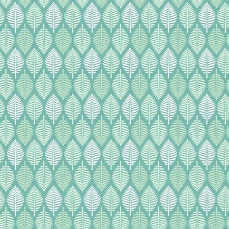 青いレース シームレスなテクスチャと繊細な光無限パターン設計のためのテンプレートの葉春の葉します。  イラスト・ベクター素材