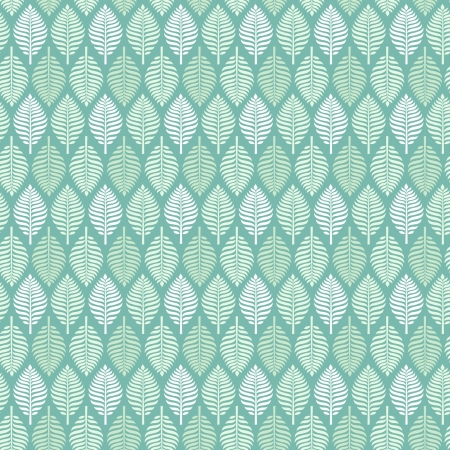 Blue lace seamless leaves texture  Spring delicate light endless pattern with leaves  Template for design Illustration