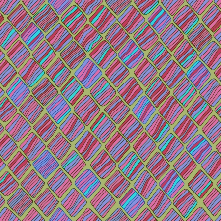 Colorful bright decorative seamless texture  Endless linear pattern, template for design and decoration Illustration
