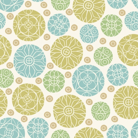 Decorative seamless floral texture   Vector