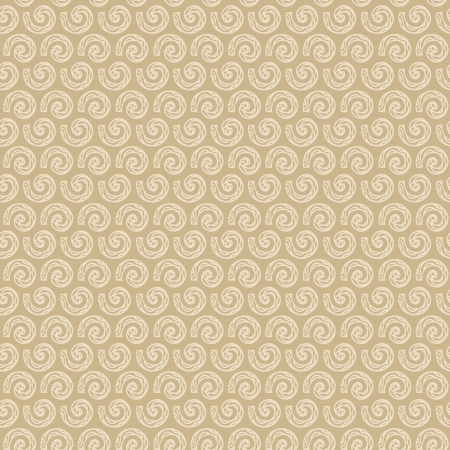 plaited: Abstract seamless doodle pattern  Endless beige linear retro texture