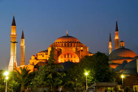Aya Sofya of Istanbul at Night photo