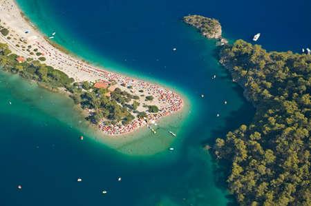 oludeniz: Flying over the Blue Lagoon in Oludeniz