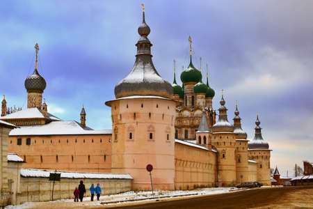 Kremlin in Rostov the Great of Russia photo