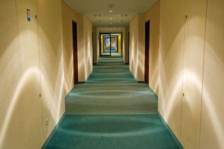Long Modern Corridor Stock Photo - 1860178