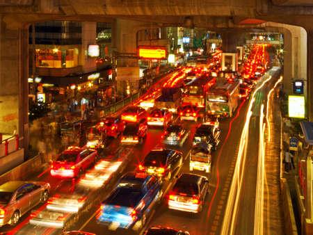 Rush Hour in Bangkok Centre Stock Photo - 1934762