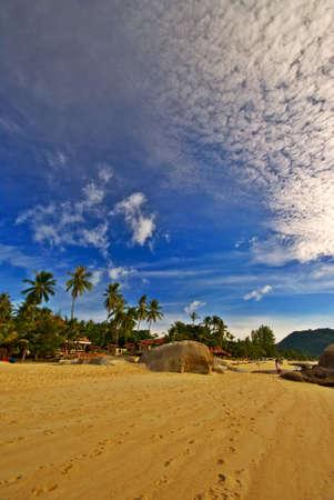 Yellow Sand Sunrise Beach View photo