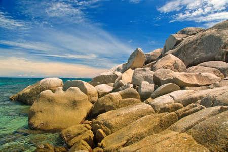 Grand Rocky Sea Shore View photo