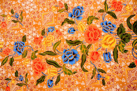 batik: Thai Sarong avec Seamless Image