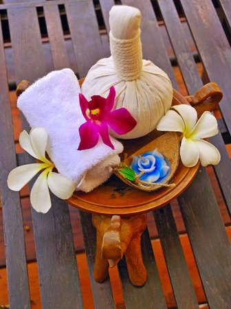 Natural Herbal & Foral Spa set photo