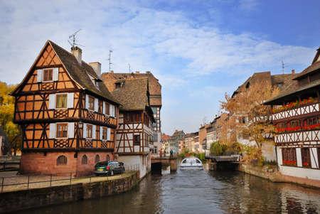 Bunte Häuser von Straßburg