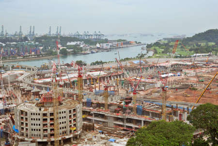 Construction Site near Big  Sea Port photo