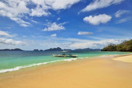 Beach Paradise Holidays Tropical Scene Stock Photo - 4295170