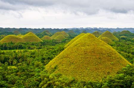Chocolate Hills in Bohol Philippines photo