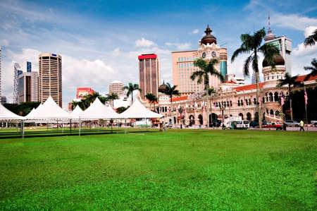 merdeka: Merdeka square in Kuala Lumpur, Malaysia Stock Photo
