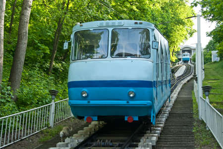 Funicular  Railway  in Kiev, Ukraine.