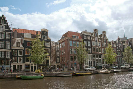 Amsterdam Channel Panorama Stock Photo - 7103122