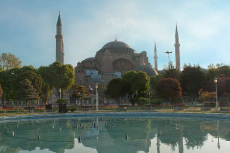 constantinople: Aya Sofia - a famous churchmosque in Istanbul.