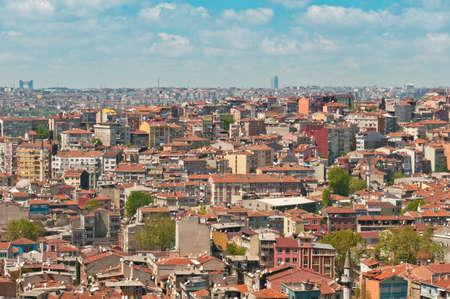 over packed: I tetti di Istanbul, Turchia