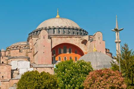 aya: Haghia (Aya) Sophia - famous church and mosque in Istanbul.