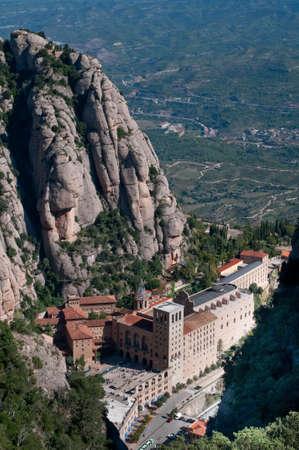 benedictine: Monasterio de Montserrat - una Espa�a de abad�a, Catalu�a, benedictino