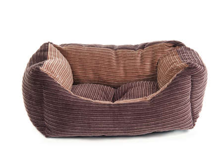 Fluffy brown cot for small pets photo