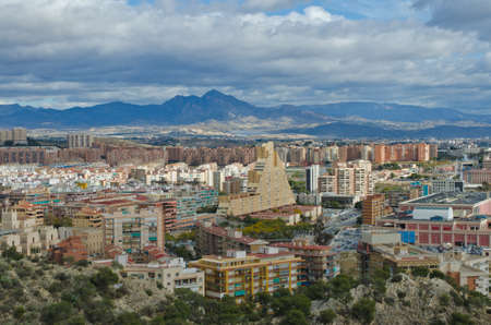 Cityscape of Alicante, Comunidad Valenciana, Spain photo