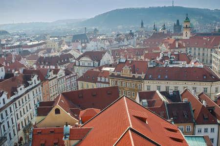 Roofs of Prague, Czech Republic. Stock Photo - 11806002