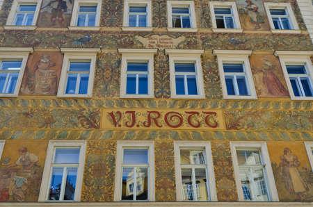 rott: Hotel Rott en la Plaza Peque�a, de Praga.