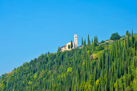 Scenic view of typical Tuscany landscape, Italy Stock Photo - 11519667