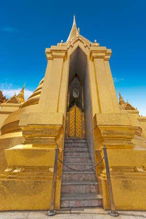 The Famous temple Phra Sri Ratana, Bangkok, Thailand photo