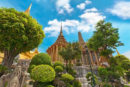 bouddha: Grand Palais et temples, Bangkok, Thaïlande