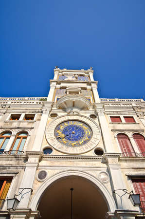 Zodiac clock, Venice, Italy photo