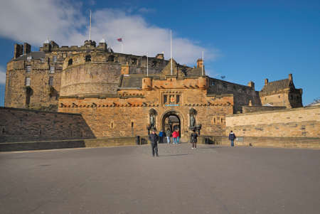 Edinburgh Castle Entrance, Great Britain. Stock Photo - 11707699