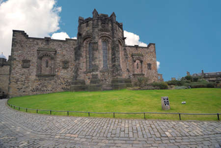 scotish: Edinburgh Castle , Scotish National War Memorial. Editorial