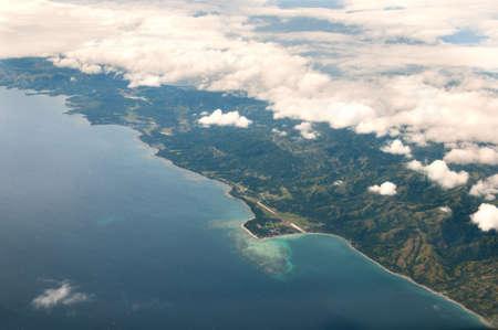 bounty: Bounty Paradise Island Vista a�rea, del Oc�ano Pac�fico