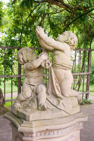 Cupid statue photo
