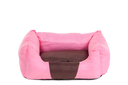 Comfortable pink cot for small pets photo