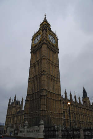 Big Ben tower, London, Great Britain photo