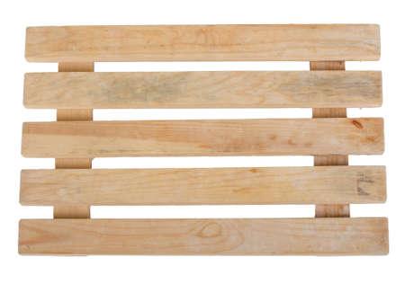 Nouvelle palette d'entrepôt en bois - vue de face