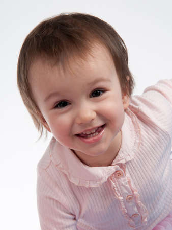 Smiling little girl portrait Stock Photo - 13904144
